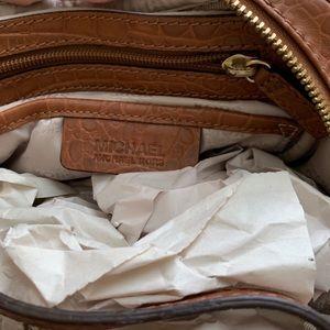 Michael Kors Bags - Michael Kors Tan Ostrich Satchel